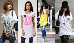 футболки як основний елемент в чоловічому і жіночому гардеробі