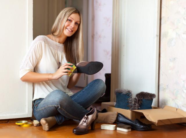 як правильно доглядати за взуттям