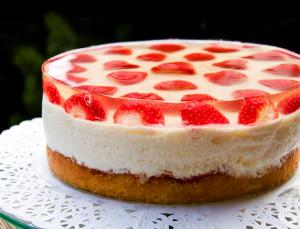 як красиво прикрасити торт з допомогою жилі?